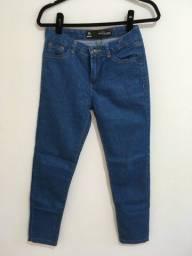 3 calças jeans skinny tam 38 com cinto