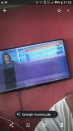 TV LG smart 55 polegadas com defeito
