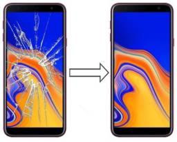 Vidro da Tela para Samsung J4 Plus J415, Mantenha a Originalidade do seu Estimado Celular!