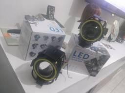 Luz led motocycle laser gun par