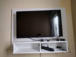 Tv Panasonic 43p + TV Box e Painel