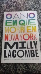 Livro - O ano em que eu morri em NY