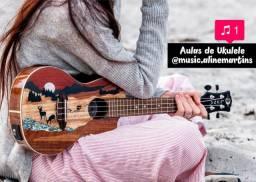 Aulas de UKULELE (Presencial & Online) UBERABA/MG