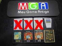 Cartuchos de 1 Jogo para Atari 2600