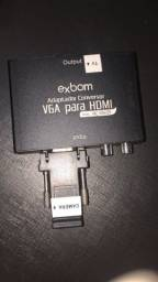 Conversor VGA Para HDMI - V2H100 - ExBOM