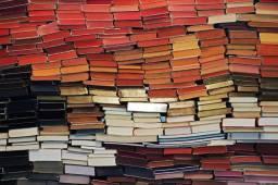 Estoque de livros diverso