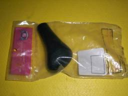 Título do anúncio: Bola de Câmbio Manopla Universal Modelo Cachimbo Preto em PVC