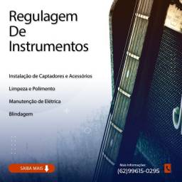 Regulagem de Instrumentos