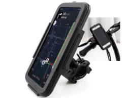 Suporte Capa Case Para Celular Gps A Prova D'água Moto Bike