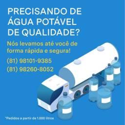 Carro Pipa água potável de qualidade.