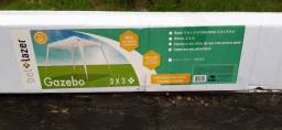 Tenda gazebo- Bel prazer-  medidas: 2.40 x2.40 cm nova.