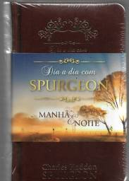 olx0092 livro dia a dia com spurgeon manhãe e noite novo lacrado