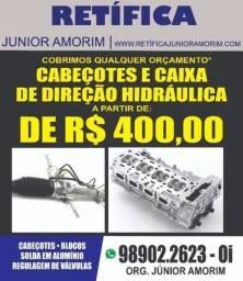 Cabeçote/Caixa De Direção Hidraulica Zetec Ecosport Ka Fiesta Focus Fusion Ranger
