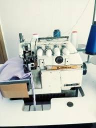 Maquina de costura industrial interlok