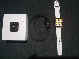 "Relógio Smartwatch IWO 12 Lite W26 Tela Infinita HD 1.75"" Preto Troca Pulseiras<br><br>"