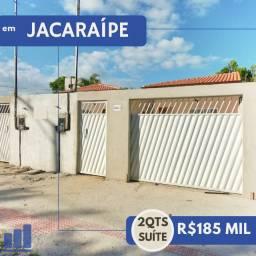 LF - Casa em Jacaraípe com 2 Q com suíte com Valor Imperdível
