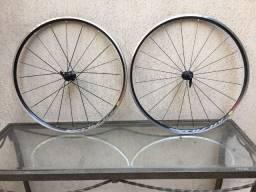 Rodas de Alumínio Mavic Aksium Aro 700C Para Bicicletas Speed C/ Freio Ferradura