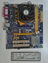 Kit AMD Placa Mãe e processador Phenom II X4 945