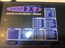 Guitar FX processor dod FX7