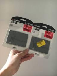 SSD 120gb instalado e formatado