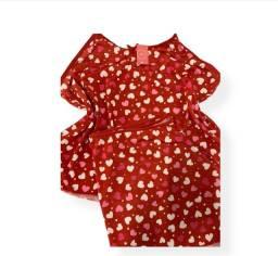 Pijamas short doll em liganete atacado para revenda