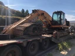 Escavadeira CX350B case para vender peças