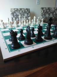 Tabuleiro de Xadrez com todas as peças Xalingo