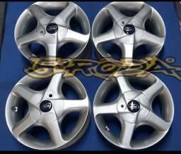 Título do anúncio: Roda Aro 13 Para FIESTA  / FORD KA / ESCORT  / PICK UP COURIER  e TODOS  Ford 4 furos