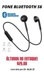 Fone de Ouvido Bluetooth S6