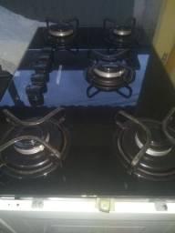Vendo este fogão Cooktop Brastemp 5 bocas elétrico