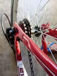 vendo bike aro 26. pouco tempo d uso