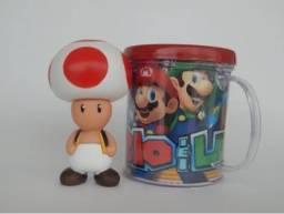 Título do anúncio: Boneco Toad (cogumelo) + Caneca Personalizada 350ml- Loja Natan Abreu Serra