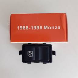 Botão  do vidro elétrico. P/ Monza 1988/1996. Novo. R$ 50,00  instalado.