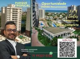 Título do anúncio: Parque Tropical | Patamares | Melhor empreendimento | 2 Vagas | Oportunidade | 3 suítes