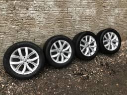 Jogo de rodas Tiguan VW 5 furos aro 18