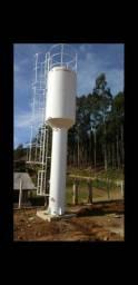 Caixa de Água Tipo Taça, Coluna Cheia 5.000 Litros