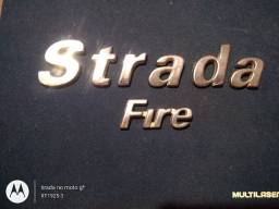 Emblema Fiat Strada Fire