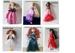 Bonecas Princesas Disney diversas-(ver descrição)
