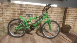 Bicicleta Infantil aro 20 FlexBikes do Hulk