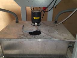 Lapidadora manual de vidro / 3 Rebolos / Agmaq