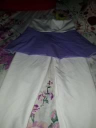 Vendo essa calça de sainha de academia nova comprei nova tem lcray