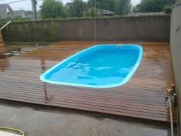 Deck piscina $185 o mt2 itauba primeira