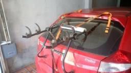 Transbike para 2 bikes sistema de catraca