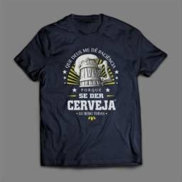 Camiseta Cerveja #top Presente para Fim de Ano, Amigo Secreto, Natal