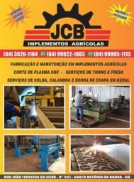 Jcb implementos agrícolas, fabricação, manutenção e serviços