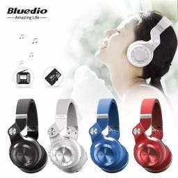 Fone de ouvido headset bluedio t2+ bluetooth profissional