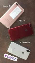 Iphone 7 x varias cores e modelos