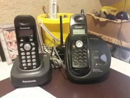 Vendo 2 aparelhos .PANASINC sem fio