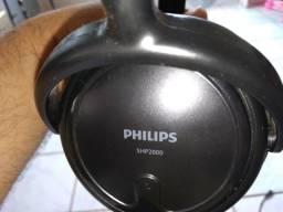 Fone de ouvido phillips shp2000 entrego