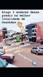 Alugo 3 andares no CENTRÃO de Guanhães